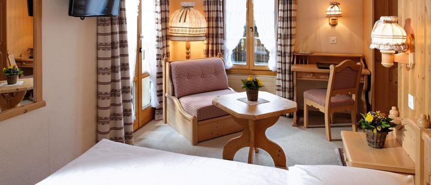 Hotel Alpenrose, Wengen, Bernese Oberland, Switzerland - bedroom.jpg